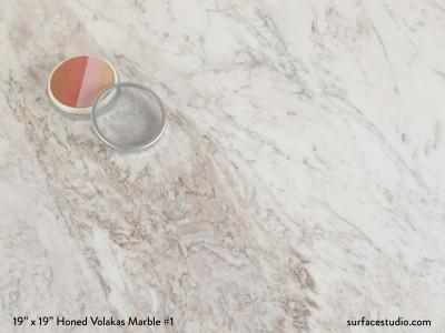 Honed Volakas Marble #1