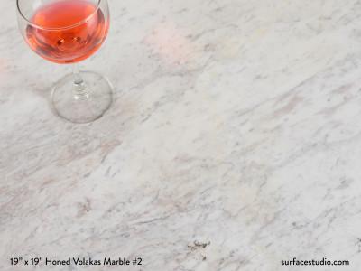 Honed Volakas Marble #2