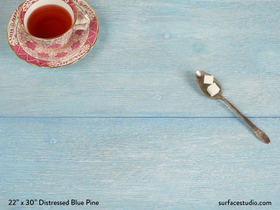 Distressed Blue Pine