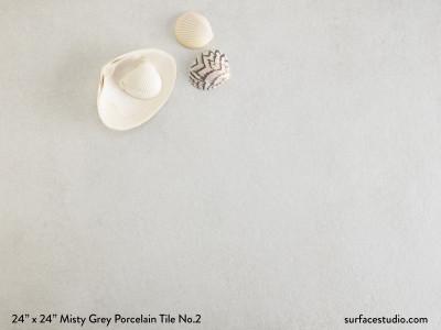 Misty Grey Porcelain Tile No.2