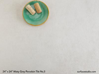 Misty Grey Porcelain Tile No.3