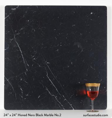 Honed Nero Black Marble No.2