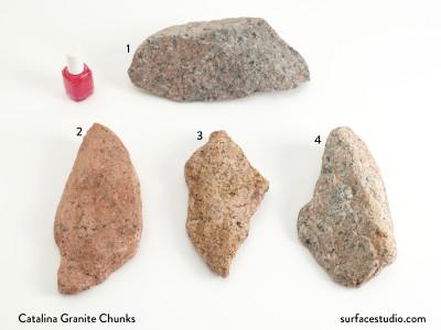 Catalina Granite Chunks (4) $30 each