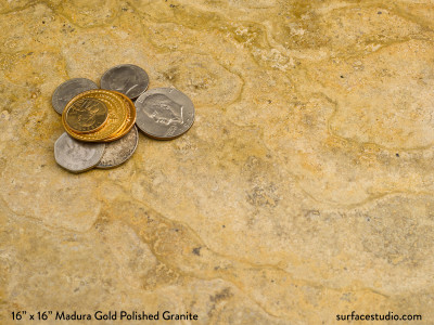 Madura Gold Polished Granite (15 lbs)