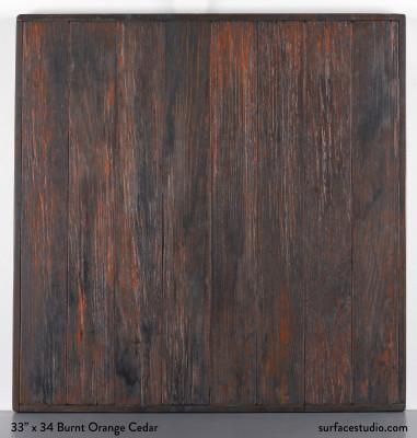 """Burnt Orange Cedar 1.5"""" Lip"""