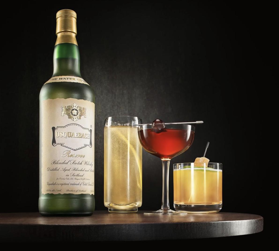 Usquaebach Scotch Whisky | Yechiel Orgel