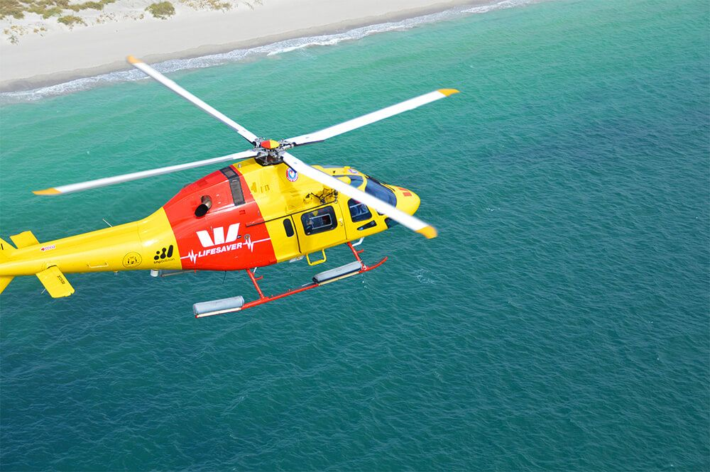 westpac lifesaver rescue helicopter service my beach