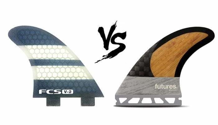 FCS Surfboard Fins Medium G5 Black FCS Twin Tab compatible Glass Flex