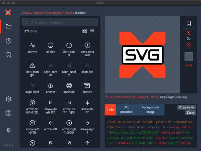 SVGX features: Dark mode
