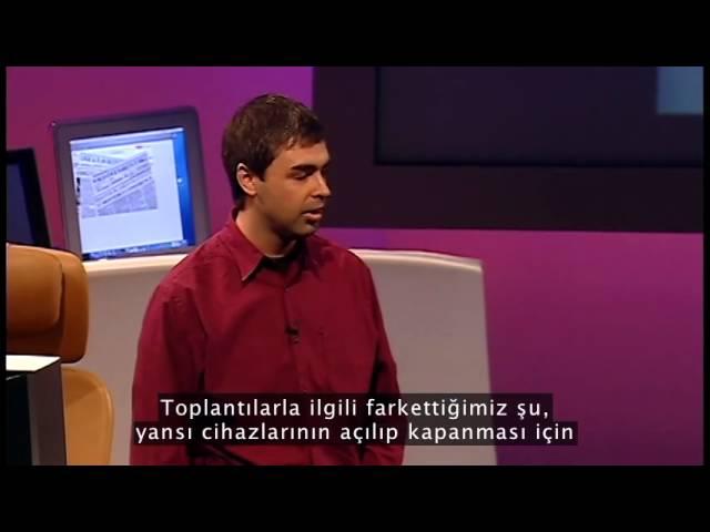 Sergey Brin ve Larry Page Google'ın hikayesini ve felsefesini anlatıyor