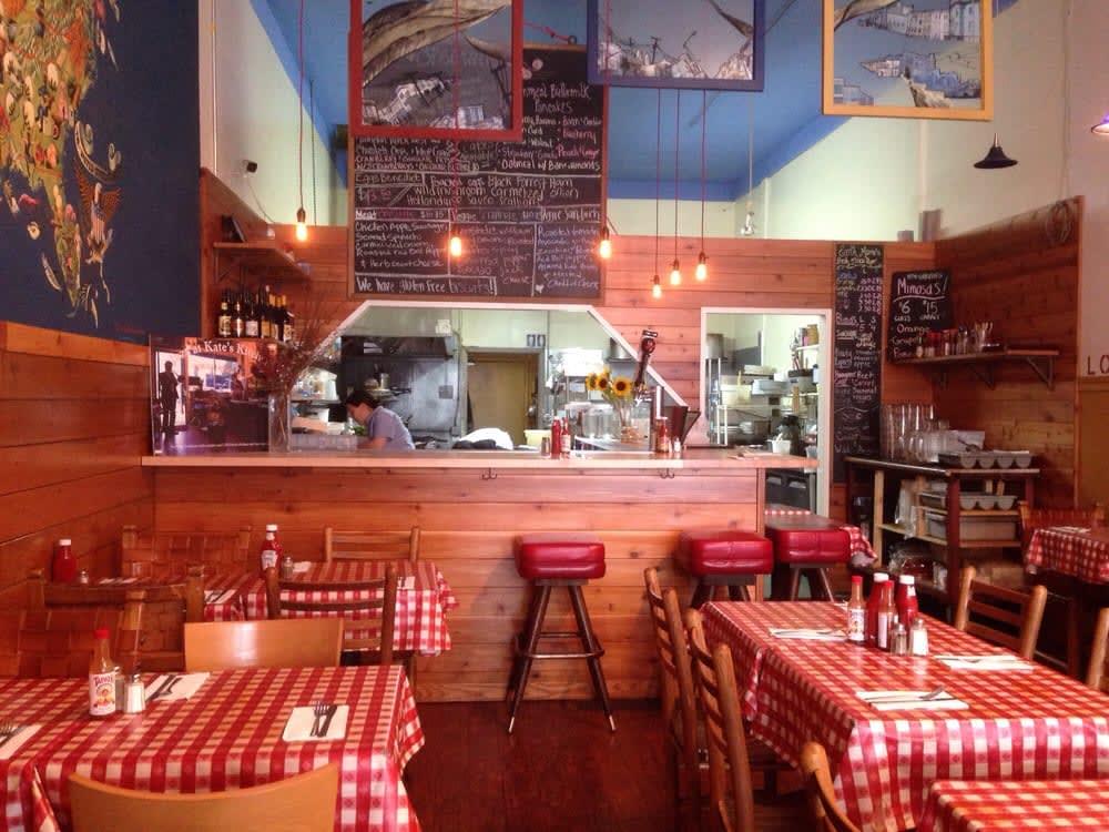 Kate's Kitchen: San Francisco'da geleneksel bir Amerikan mutfağı