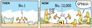 Gary Clark's 12,000th Cartoon