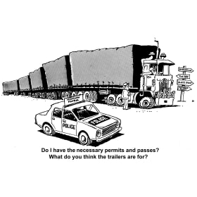 B&W Original TruckToons