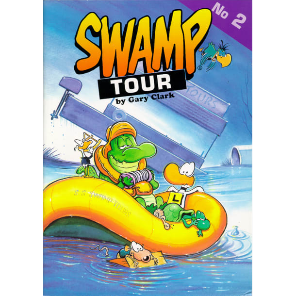 Swamp Tour 2 Cartoon Book