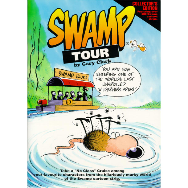 Swamp Tour Cartoon Book