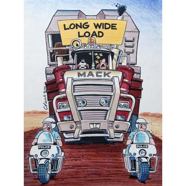 Diesel Dog Wide Load