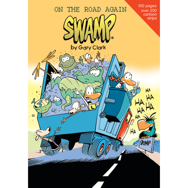 On the Road Again Cartoon Book