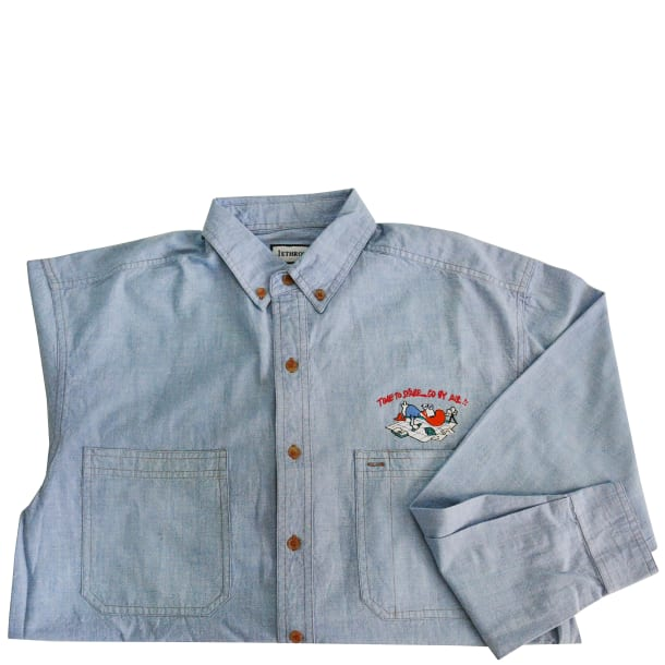 Time to Spare Chambray Shirt