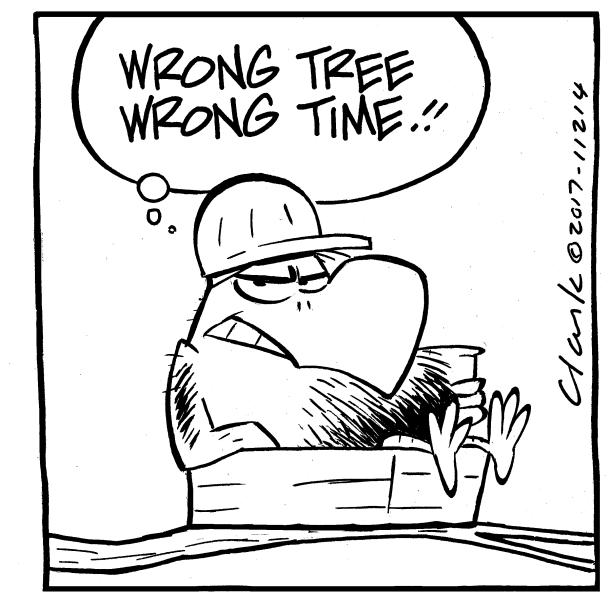 Bludgerigar Tree Comic