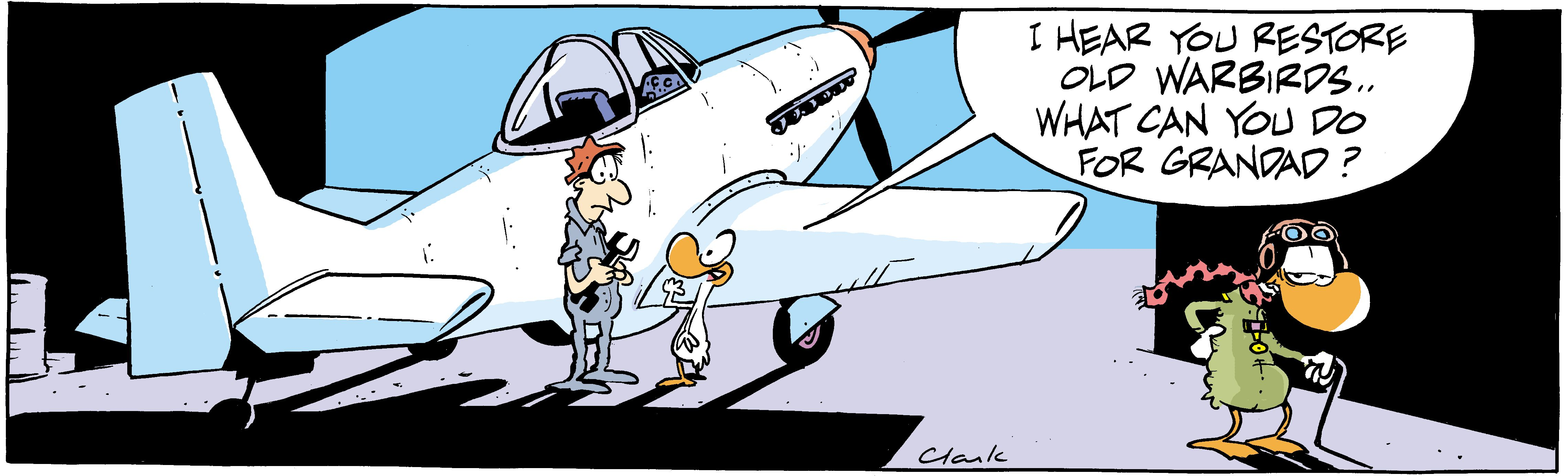 Old Warbirds Comic