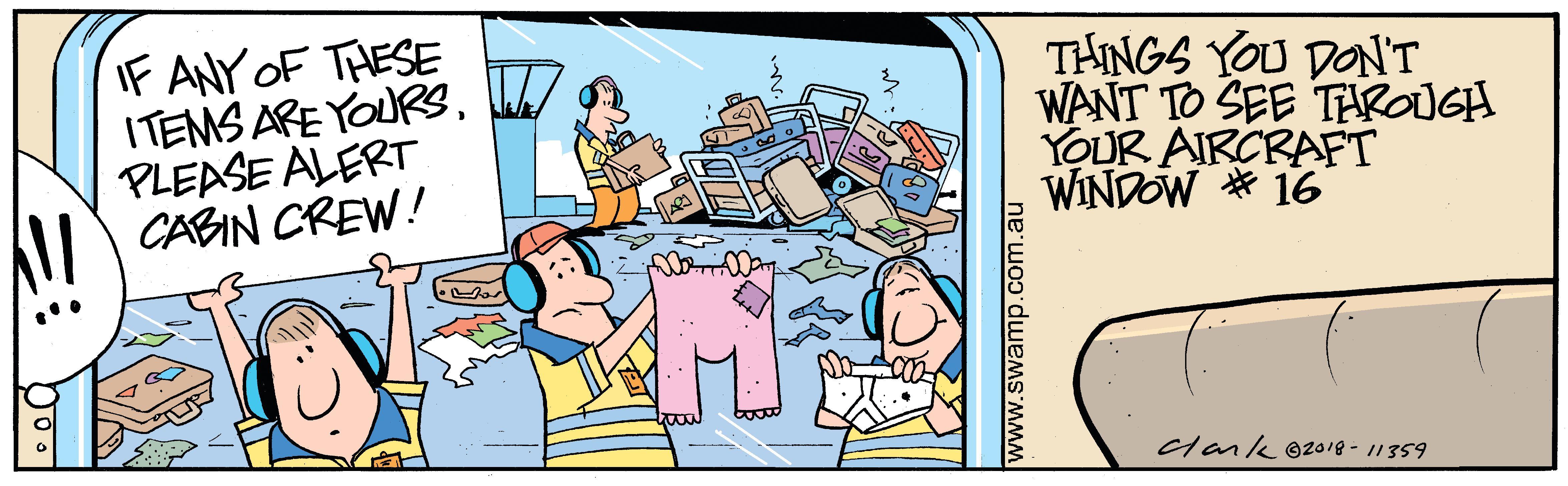 Passenger Luggage Comic