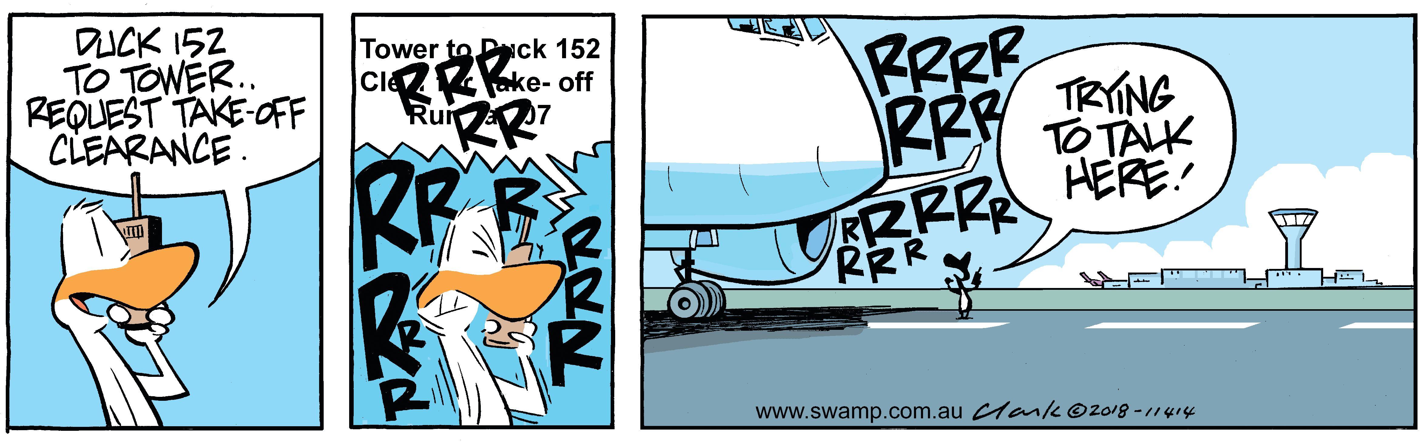 Swamp Duck Clearance Comic