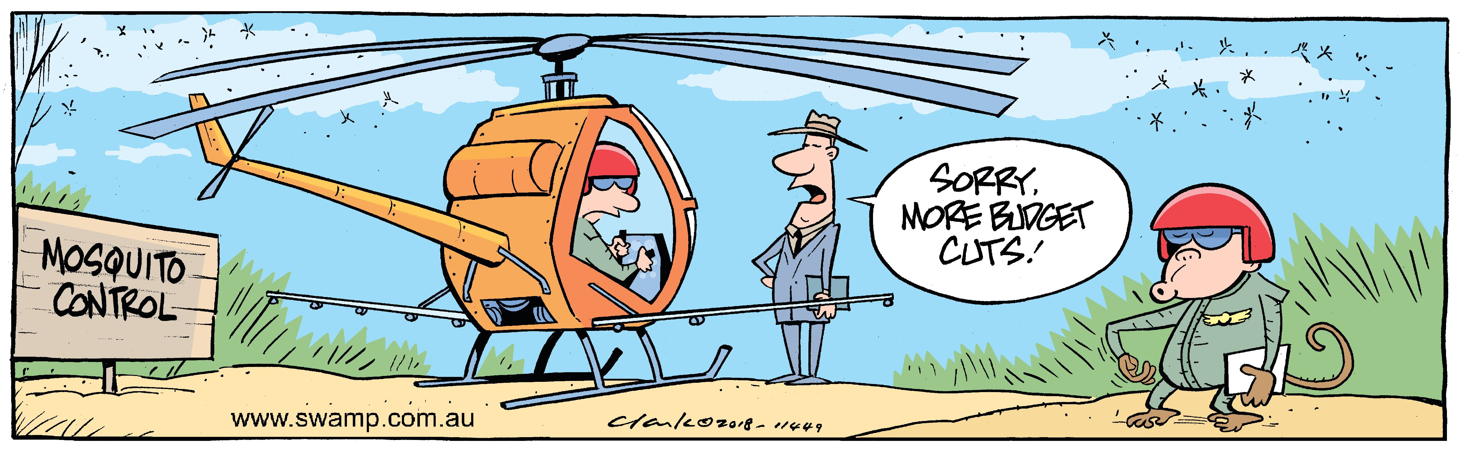 Mosquito Control Budget Cuts