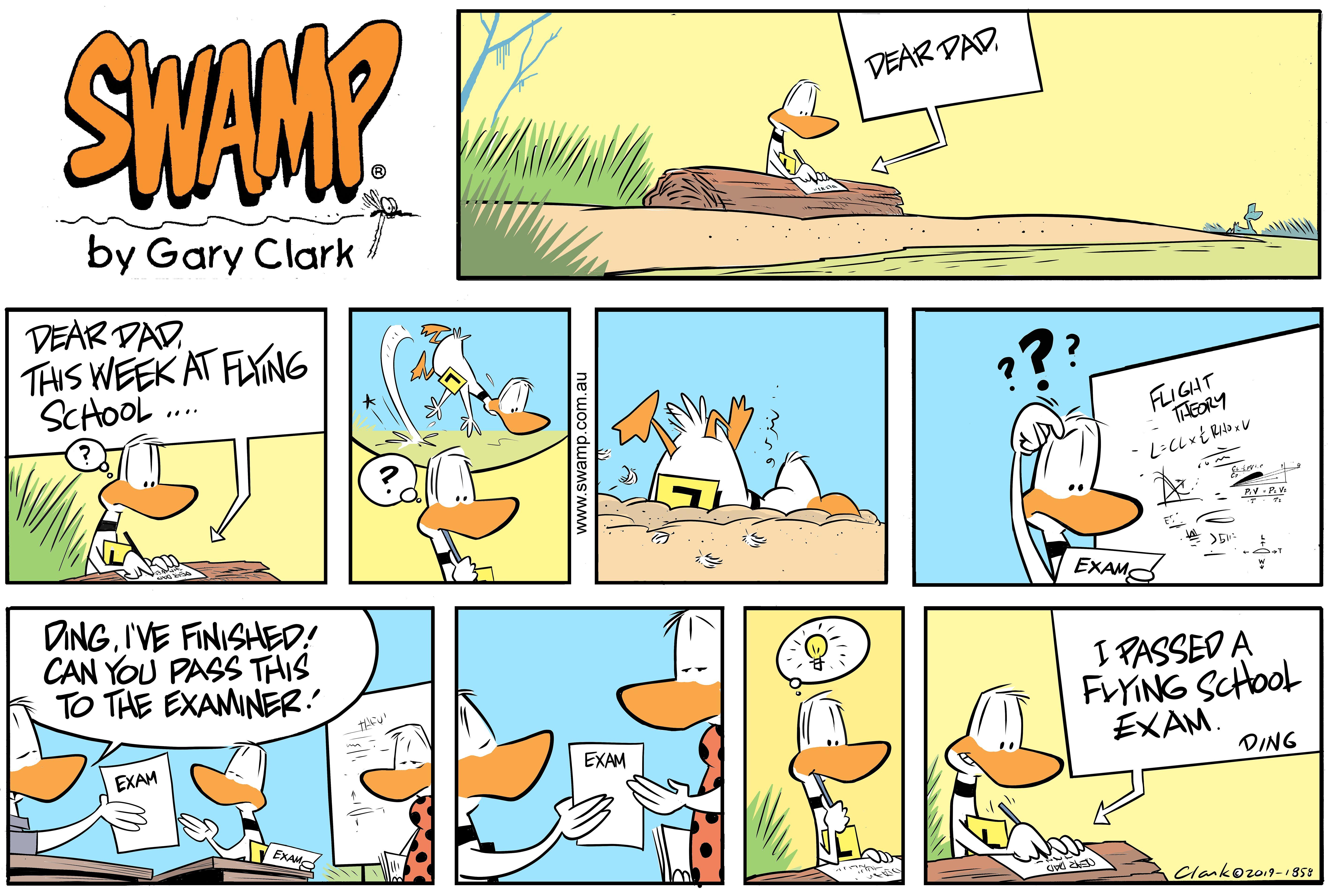 Ding Duck Week Comic