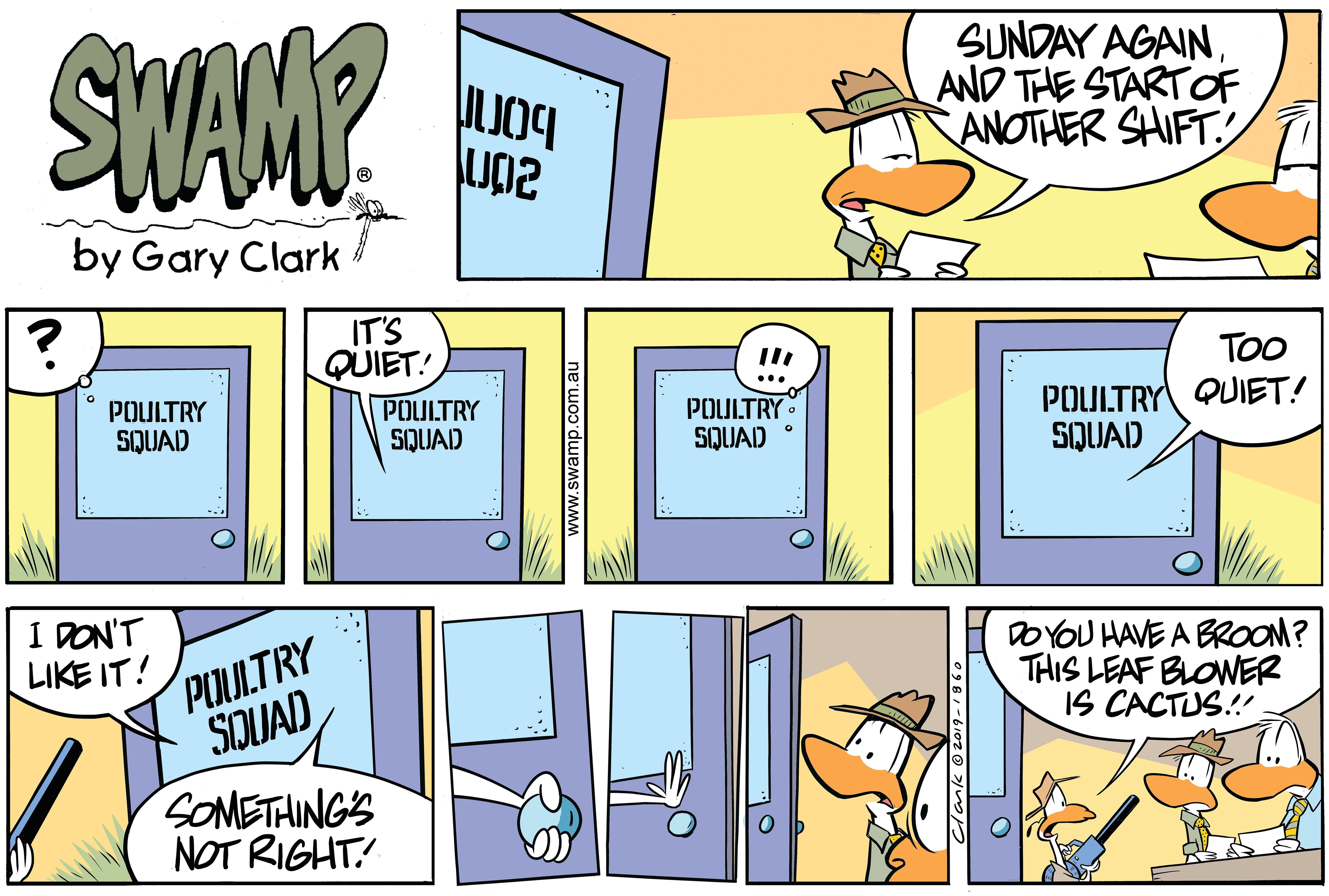 Poultry Squad Office Quiet
