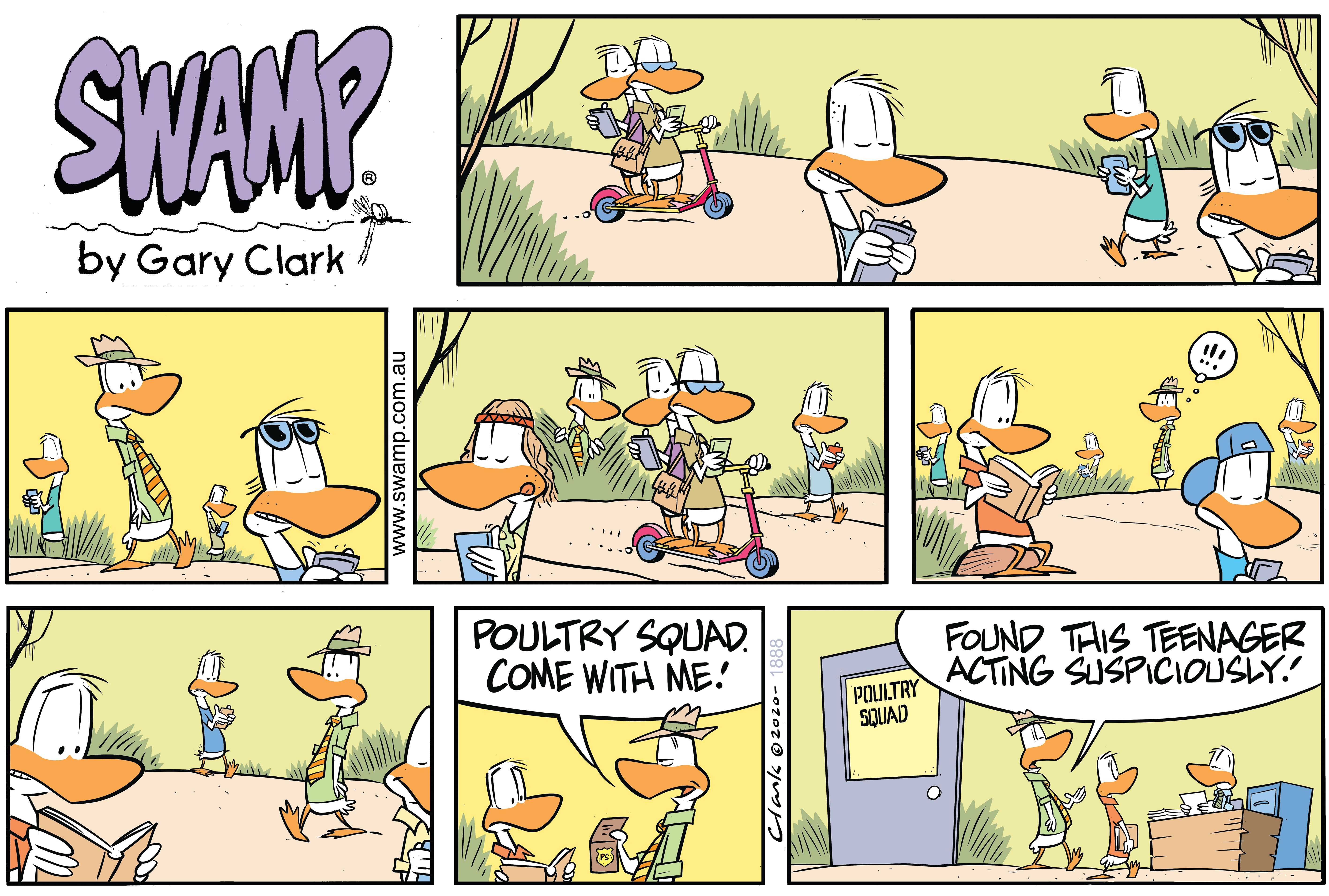Poultry Squad Has Suspicions