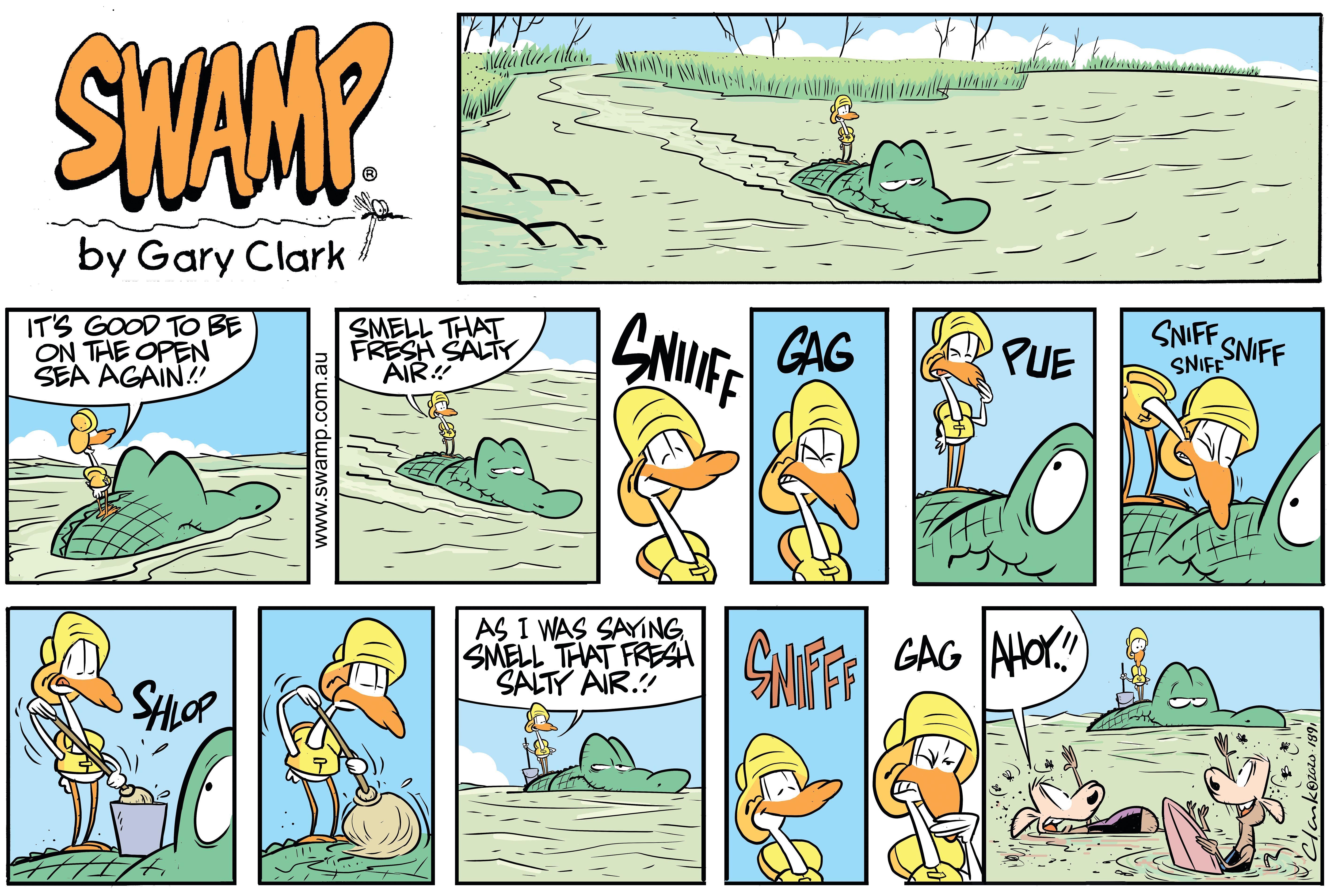 Old Man Croc Open Ocean