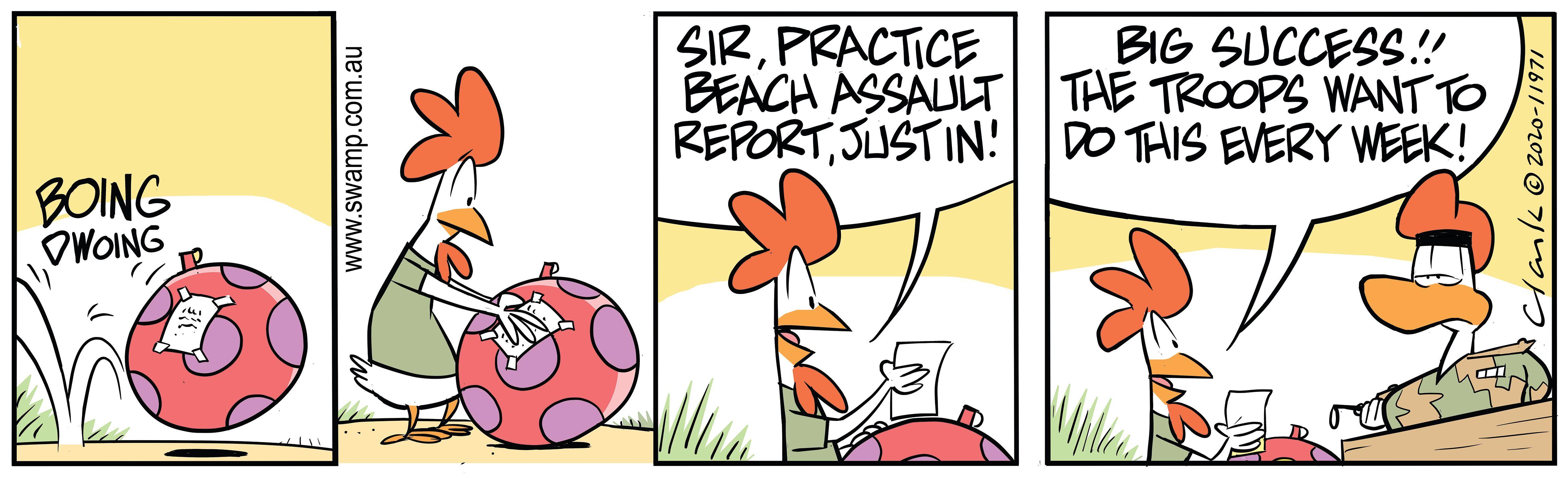 Practice Beach Assault