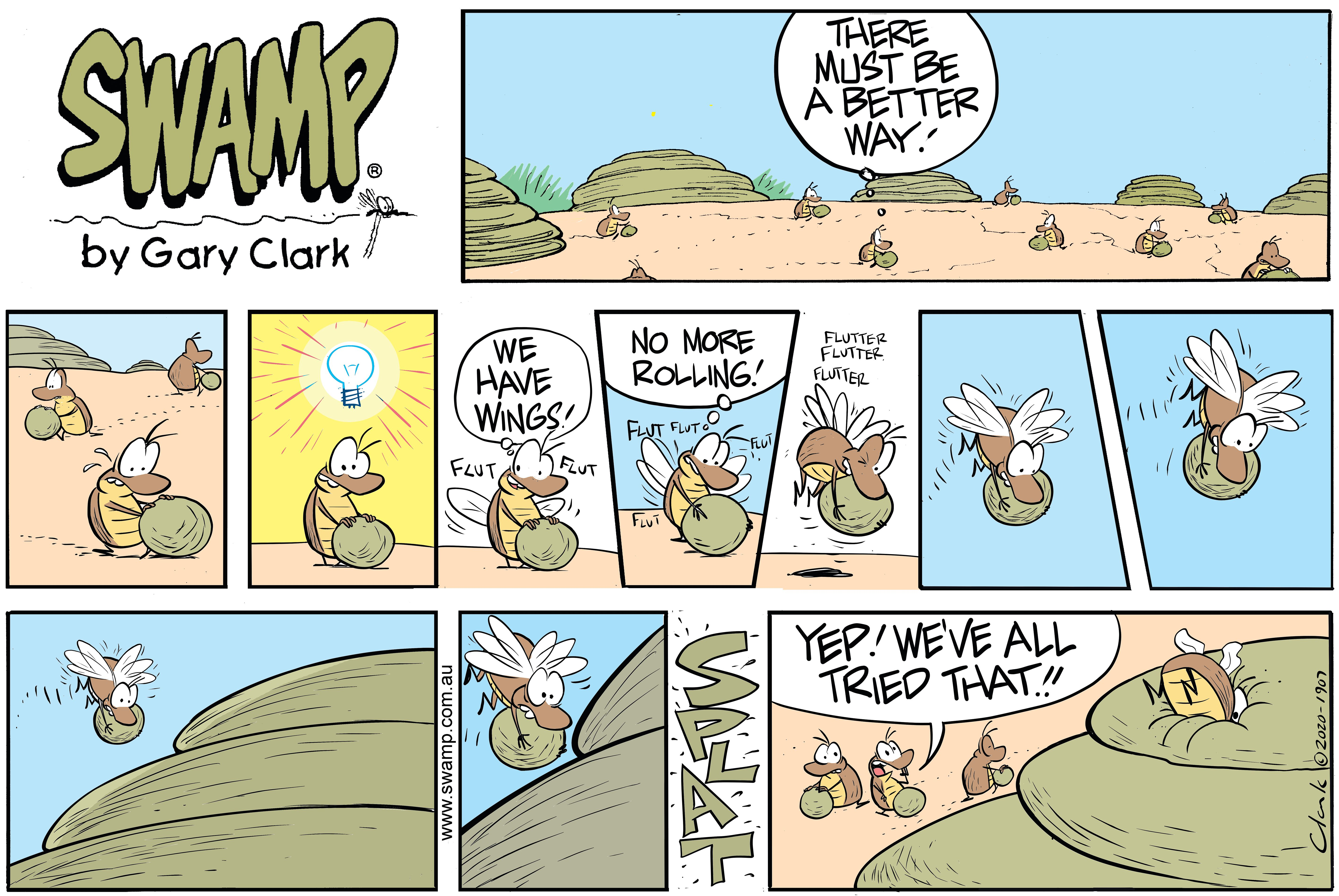 Dung Beetle Moment