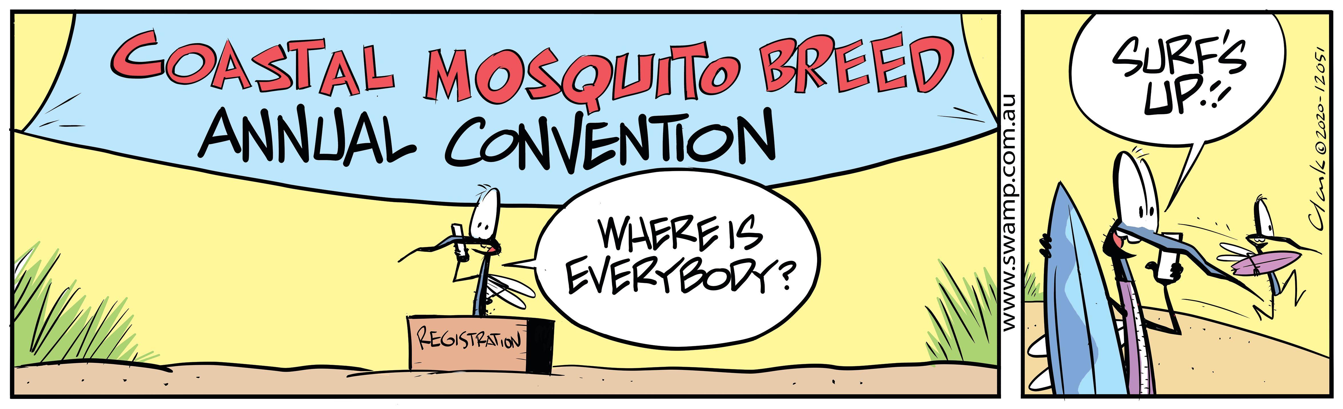 Coastal Mosquito Breed