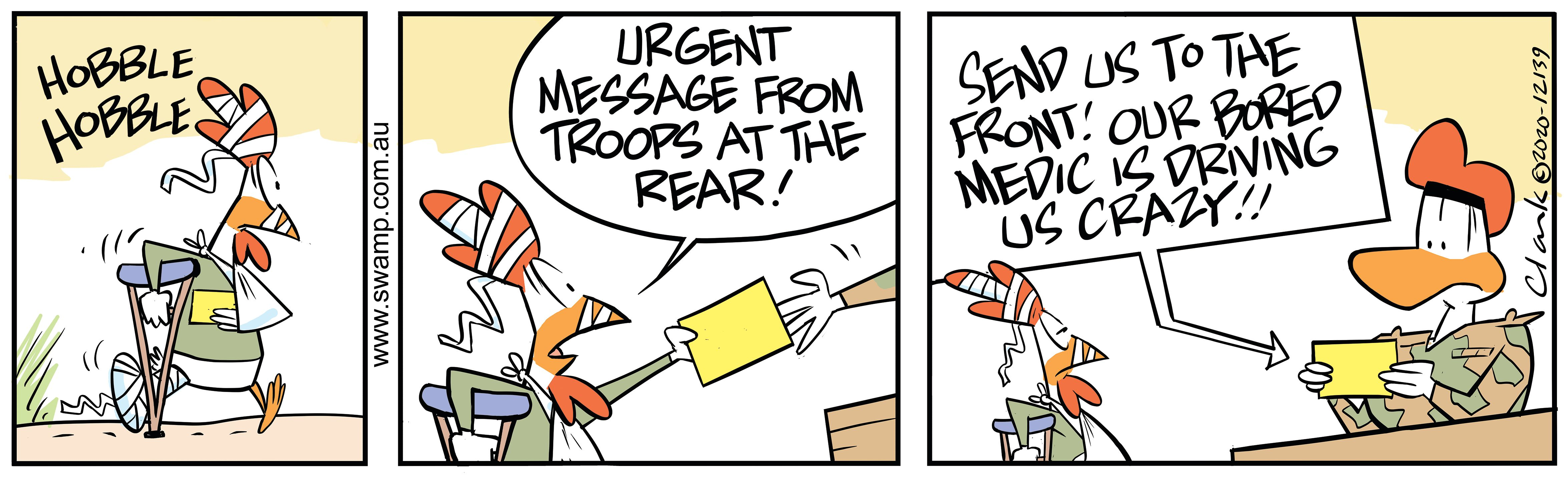 Urgent Message From Troops