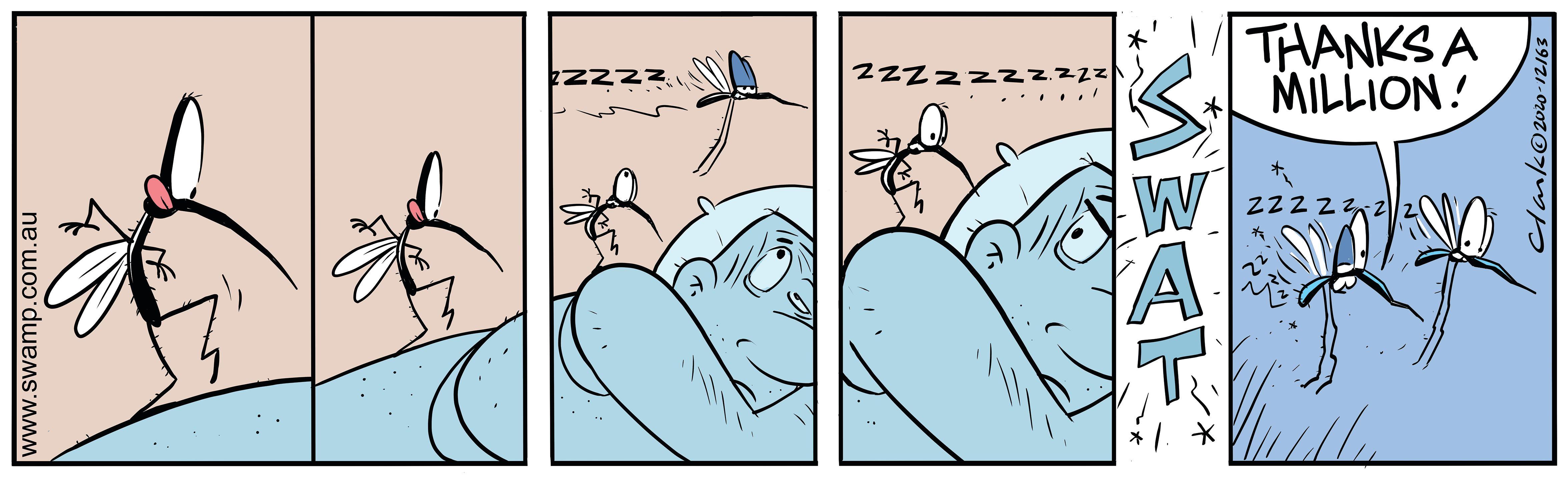 Mosquito Tip Toeing