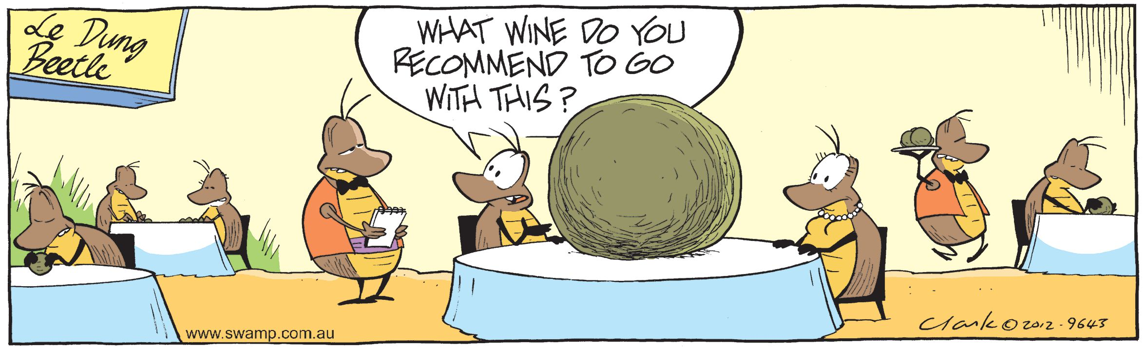 Wine with Dinner Comic
