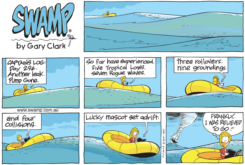 Lucky Mascot Set Adrift