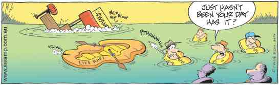 Swamp Cartoon - Murphies LawOctober 4, 2010