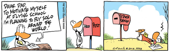 Swamp Cartoon - Ding Duck MotivationOctober 9, 2013
