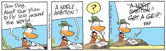 Swamp Cartoon - Reality Check ComicOctober 10, 2013