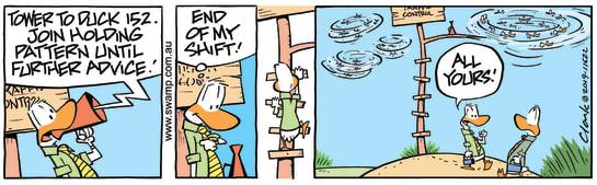 Swamp Cartoon - Air Traffic Control PatternMarch 30, 2019