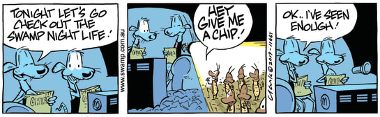 Swamp Cartoon - Swamp Rats Nightlife ComicMay 21, 2019