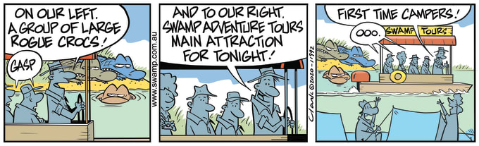 Swamp Cartoon of the Day - Swamp Adventure Tours