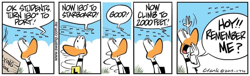Swamp Cartoon of the Day - Ding Duck Remember MeSeptember 23, 2019