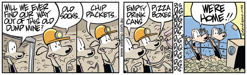 Swamp Cartoon of the Day - Cheese & Chives Rats HomeOctober 14, 2019