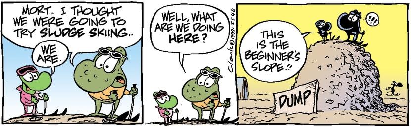 Swamp Cartoon - Beginner's SlopeJanuary 1, 1999