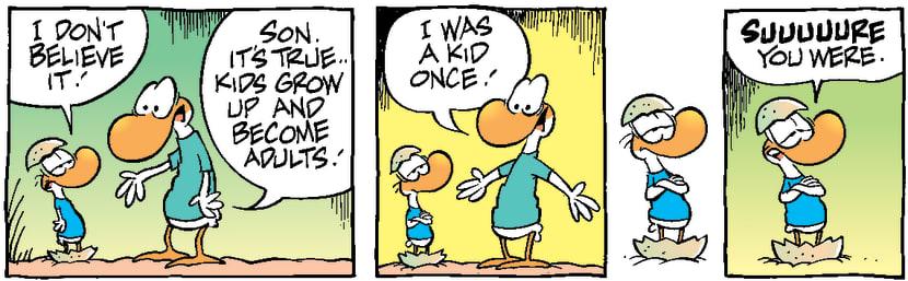 Swamp Cartoon - Baby Duck ChildhoodNovember 29, 1999