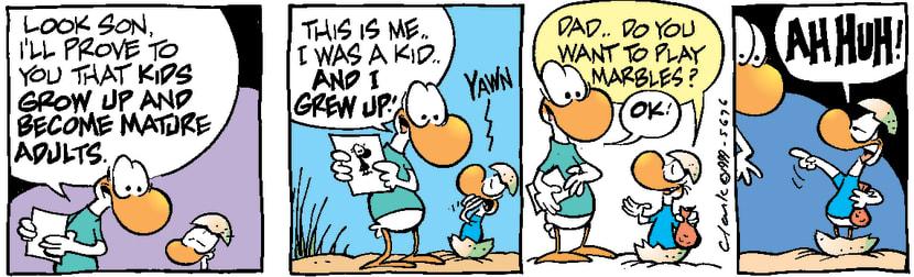 Swamp Cartoon - Picture Proof ComicNovember 30, 1999