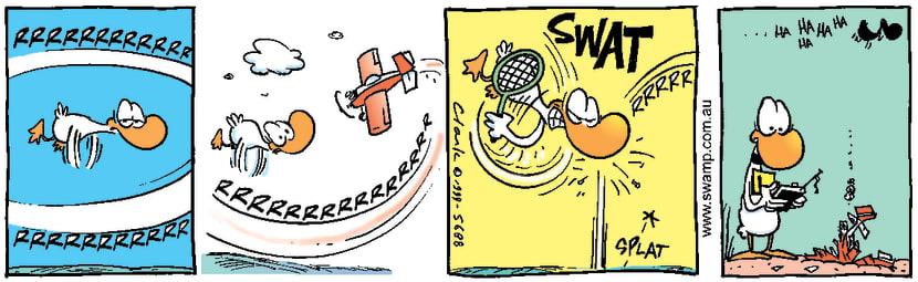 Swamp Cartoon - RevengeDecember 14, 1999